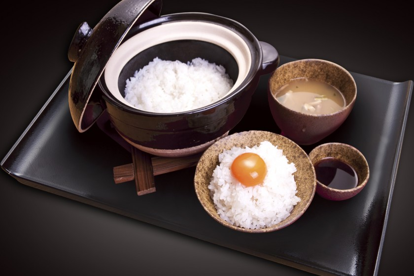 至福のTKG(卵かけごはん)